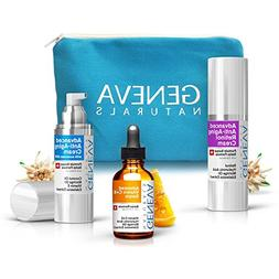 All-In-One Skin Care Kit: Natural Swiss Anti-Aging Products