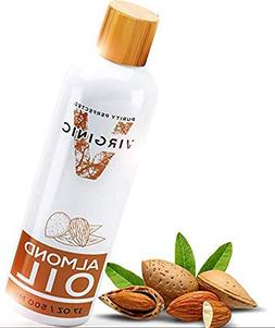Natural Organic Almond Oil Cold Pressed Essential Oils for H
