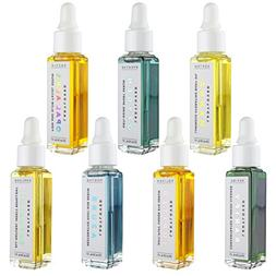 Organic Skin Care Set, 7 All Natural Serums: Opal Aura Facia