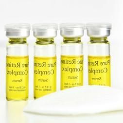 % Pure retinol vitamin night anti wrinkle facial serum cream