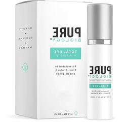 Pure Biology Premium Total Eye Cream Serum - Anti Aging Vita