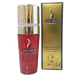 ISO BEAUTY PURE GOLD 24 K EYE SERUM ANTI- AGING 40 ML.