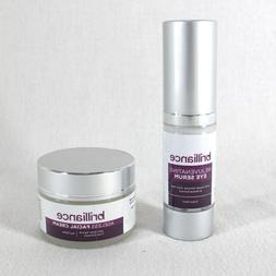 Brilliance Rejuvenating Eye Serum & Ageless Facial Cream Sea