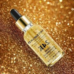 Renews Skin 24 K Gold Facial eye Serum Firming Moisturizing