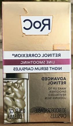 RoC Retinol Correxion Lot Of 2 - Night Serum Capsules & Dail