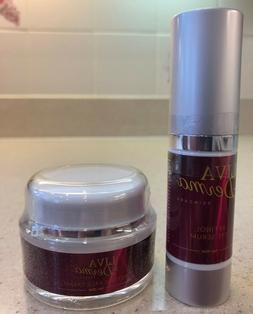 LIVA DERMA Retinol Face Cream 1 oz & Retinol Eye Serum 0.5 o