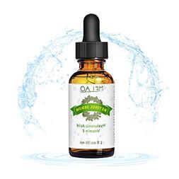 Retinol Serum 2.5% Face Skin Care Night Serum for Facial Eye