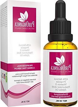 PurOrganica RETINOL SERUM - Best Treatment for Acne and Acne