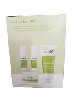 Murad retinol to go new in box 4 piece cream, serum, eye ser