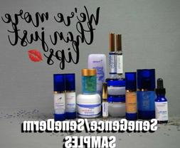 SeneGence SAMPLE/TRAVEL Sizes- Face, Eyes and Body -Parfums,