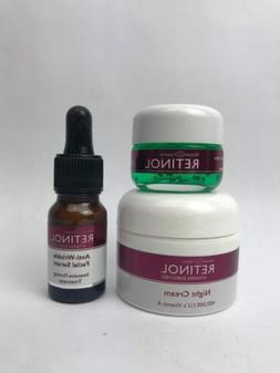 SKINCARE LdeL COSMETICS RETINOL Anti Wrinkle Facial Serum, E