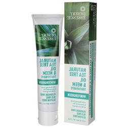 Desert Essence Tea Tree Oil Toothpaste - Wintergreen With Ne