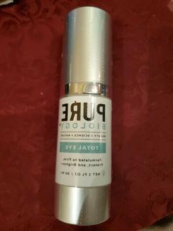 Pure Biology Total Eye Cream Serum  1 oz Brand New / Exp 202