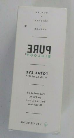 PURE BIOLOGY TOTAL  EYE SERUM 1 OZ