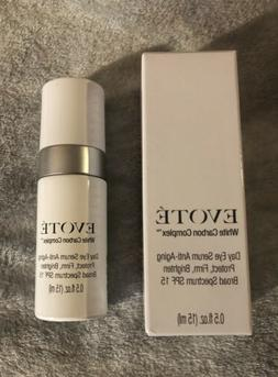EVOTE WHITE CARBON COMPLEX DAY EYE SERUM ANTI-AGING SPF 15 -